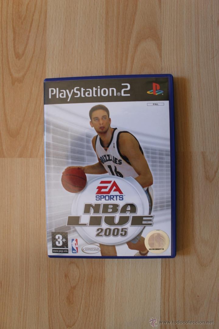 Videojuegos y Consolas: NBA LIVE 2005 JUEGO PLAYSTATION 2 EDICIÓN ESPAÑOLA PS2 - Foto 2 - 41260064