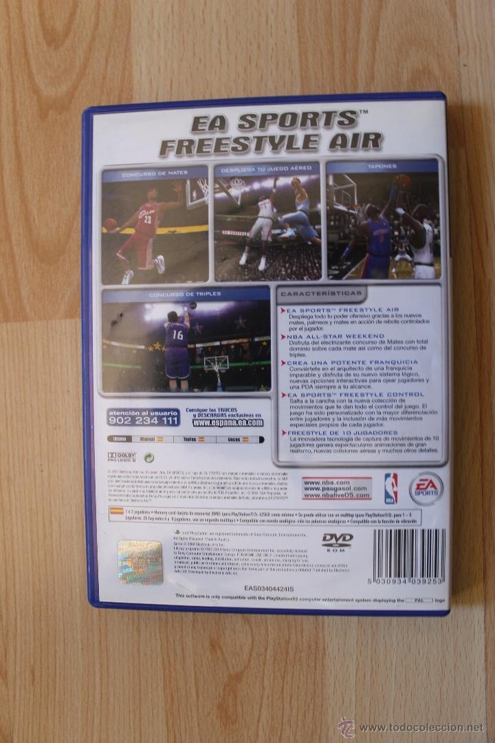 Videojuegos y Consolas: NBA LIVE 2005 JUEGO PLAYSTATION 2 EDICIÓN ESPAÑOLA PS2 - Foto 3 - 41260064