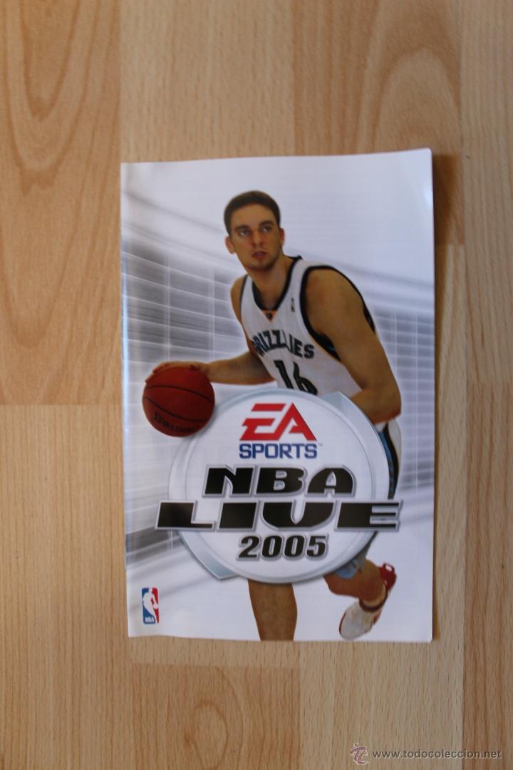 Videojuegos y Consolas: NBA LIVE 2005 JUEGO PLAYSTATION 2 EDICIÓN ESPAÑOLA PS2 - Foto 4 - 41260064