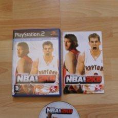 Videojuegos y Consolas: NBA 2K8 2K SPORTS JUEGO PLAYSTATION 2 EDICIÓN ESPAÑOLA PS2. Lote 41260159