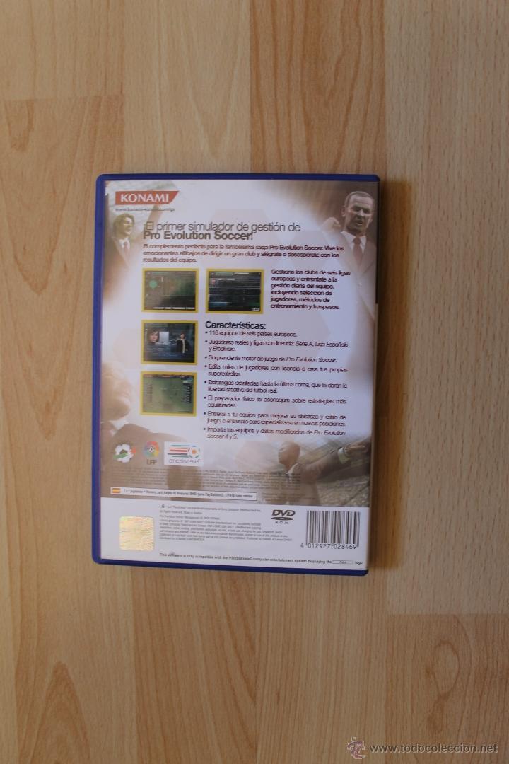 Videojuegos y Consolas: PRO EVOLUTION SOCCER MANAGEMENT JUEGO PLAYSTATION 2 EDICIÓN ESPAÑOLA PS2 - Foto 3 - 41260702