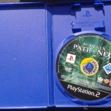 Videojuegos y Consolas: PS2 MATRIX PATH OF NEO , SIN CARATULA, PAL ESPAÑA. Lote 42398541
