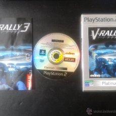 Videojuegos y Consolas: PS2- V-RALLY 3 PAL/ESP. Lote 42473909