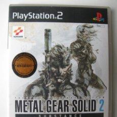 Videojuegos y Consolas: METAL GEAR SOLID 2 - SUBSTANCE - JUEGO PARA PLAYSTATION 2.. Lote 42632478