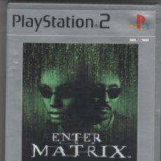 Videojuegos y Consolas: ENTER THE MATRIX - PS2 PLATINUN. Lote 42825412