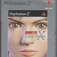 Videojuegos y Consolas: RESIDENT EVIL X CODE VERONICA PS2. Lote 143398618