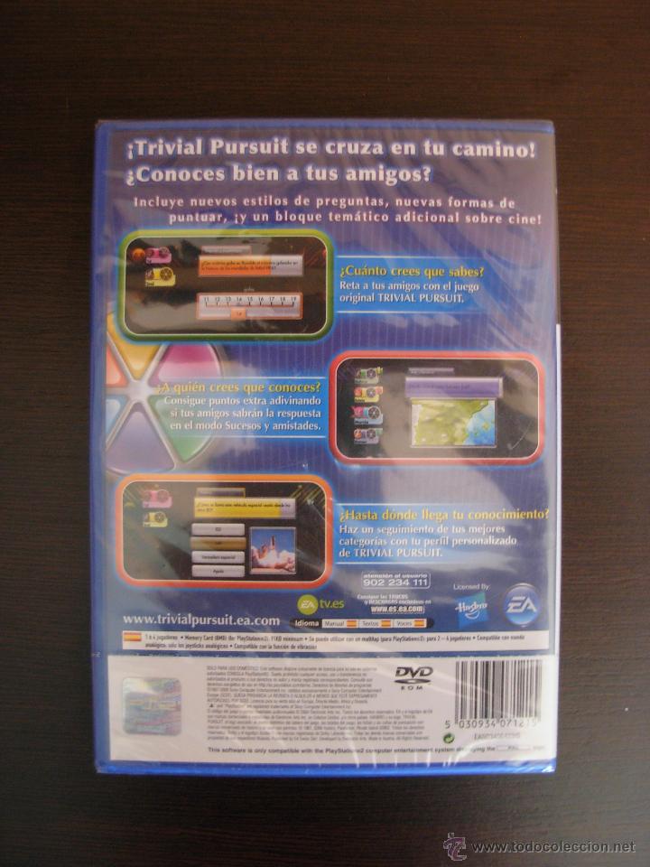 Videojuegos y Consolas: Juego playstation 2 Trivial Pursuit. Nuevo. Precintado. - Foto 2 - 42963670