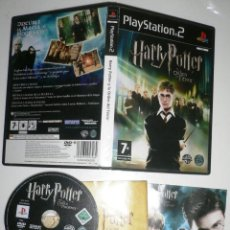 Videojuegos y Consolas: HARRY POTTER Y LA ORDEN DEL FENIX. JUEGO PS2 PLAY STATION 2. Lote 205653818