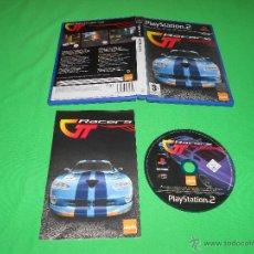 Videojuegos y Consolas: GT RACERS - PS2 - PAL - LIQUID GAMES - CON INSTRUCCIONES. Lote 43663725