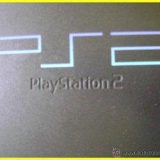 Videojuegos y Consolas: PS2 PLAYSTATION 2 CON 2 MANDOS, MEMORY CARD Y CABLES. FUNCIONANDO. Lote 43723319