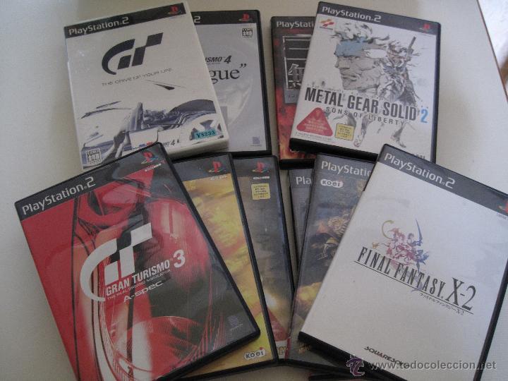 Lote 64 Juegos Japoneses Ps2 Comprar Videojuegos Y Consolas Ps2 En