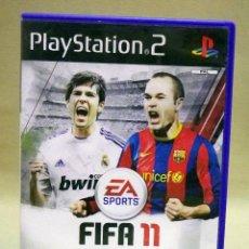 Videojuegos y Consolas: JUEGO, PLAYSTATION 2, FIFA 11, FUTBOL, PAL, PS3. Lote 43987344
