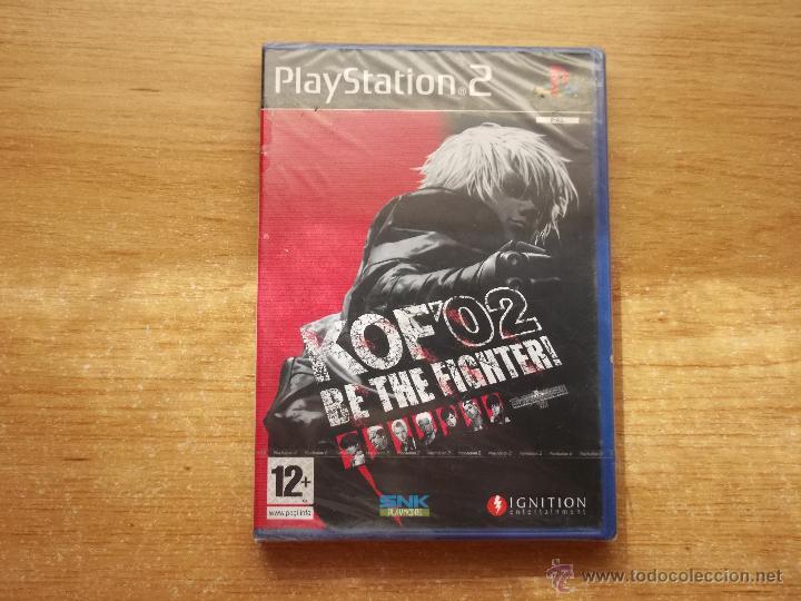 THE KING OF FIGHTERS 2002 PLAYSTATION 2 PS2 PAL ESPAÑA NUEVO PRECINTADO - RAREZA (Juguetes - Videojuegos y Consolas - Sony - PS2)