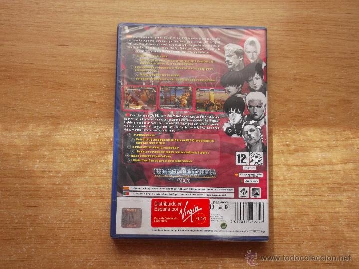 Videojuegos y Consolas: THE KING OF FIGHTERS 2002 PLAYSTATION 2 PS2 PAL ESPAÑA NUEVO PRECINTADO - RAREZA - Foto 2 - 33400893