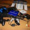 Videojuegos y Consolas: PS2 - PLAYSTATION 2 + 4 MANDOS + MEMORIAS + CHIP + 2 JUEGOS ORIGINALES + 37 JUEGOS REGALO. Lote 44792233