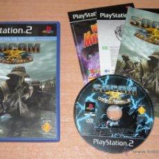Videojuegos y Consolas: JUEGO PS2 SOCOM U.S. NAVY SEALS - PAL ESPAÑA - COMPLETO. Lote 44835834