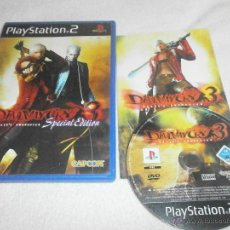 Videojuegos y Consolas: DEVIL MAY CRY 3 SPECIAL EDITION PLAYSTATION 2 PAL ESPAÑA COMPLETO. Lote 44890275