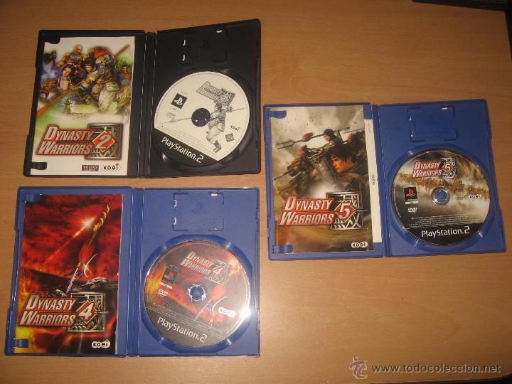 Videojuegos y Consolas: 3 JUEGOS DYNASTY WARRIORS 2 4 y 5 PS2 PAL ESPAÑA COMPLETOS / KOEI - Foto 3 - 43941501