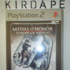 Videojuegos y Consolas: MEDAL OF HONOR EUROPEAN ASSAULT PLAYSTATION 2. Lote 46027464