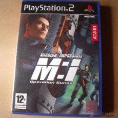 Videojuegos y Consolas: PS2 MISSION:IMPOSIBLE. Lote 46195340
