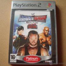 Videojuegos y Consolas: PS2 SMACK DOWN VS RAW 2008. Lote 46195511