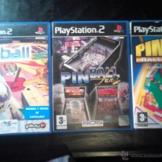 Videojuegos y Consolas: PINBALL - LOTE PACK 3 DISCOS - PLAYSTATION 2 - SIN USAR. Lote 46686525