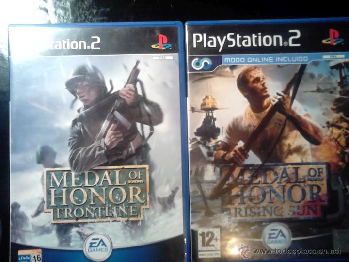 MEDAL OF HONOR - PACK LOTE 2 JUEGOS - PLAYSTATION 2 - 2 DISCOS (Juguetes - Videojuegos y Consolas - Sony - PS2)