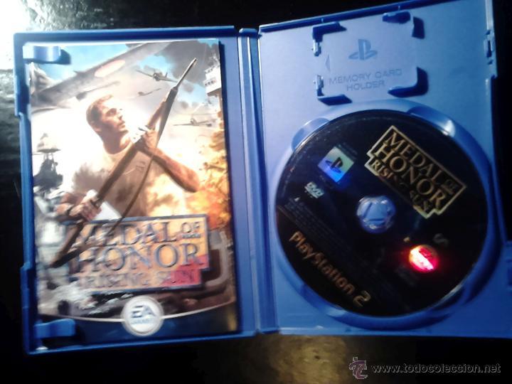 Videojuegos y Consolas: MEDAL OF HONOR - PACK LOTE 2 JUEGOS - PLAYSTATION 2 - 2 DISCOS - Foto 3 - 46686590