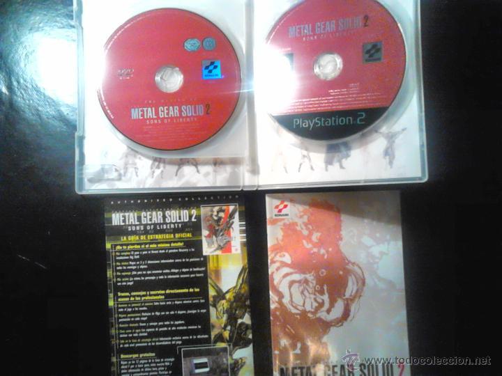 Videojuegos y Consolas: METAL GEAR SOLID 2 : Sons of Liberty - EDICIÓN BUENÍSIMA - PLAYSTATION 2 - 2 DISCOS - Foto 3 - 46686808