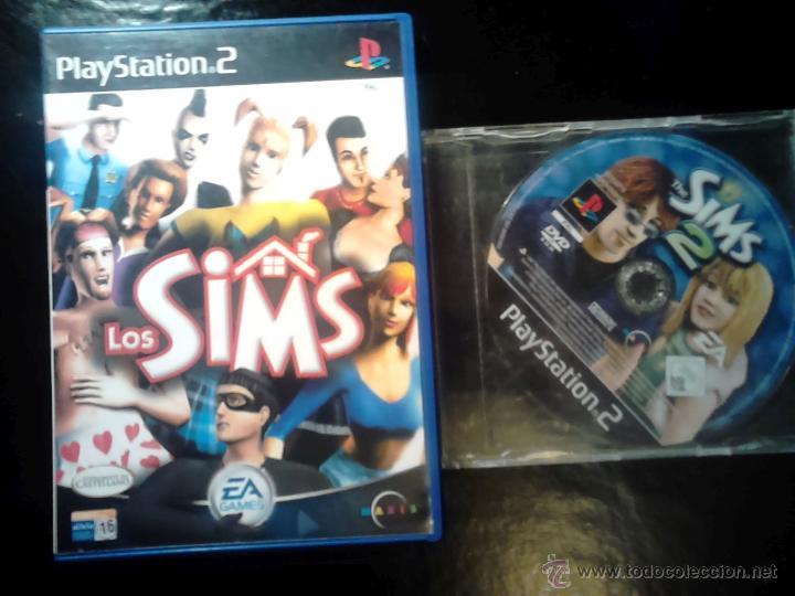 LOS SIMS 1 Y 2 - PACK LOTE 2 DISCOS - PLAYSTATION 2 (Juguetes - Videojuegos y Consolas - Sony - PS2)