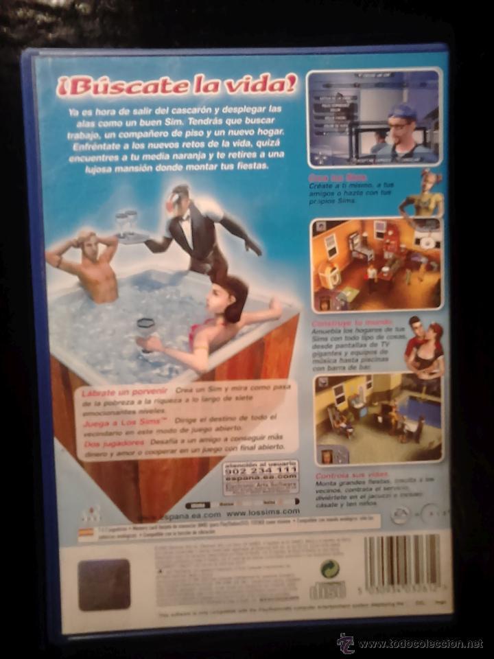 Videojuegos y Consolas: LOS SIMS 1 Y 2 - PACK LOTE 2 DISCOS - PLAYSTATION 2 - Foto 3 - 46686885