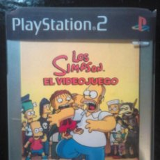 Videojuegos y Consolas: LOS SIMPSON - EL VIDEOJUEGO DE LOS SIMPSONS - PLAYSTATION 2 - 2 DISCOS. Lote 46687008