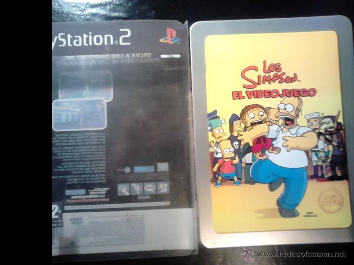 Videojuegos y Consolas: LOS SIMPSON - EL VIDEOJUEGO DE LOS SIMPSONS - PLAYSTATION 2 - 2 DISCOS - Foto 4 - 46687008