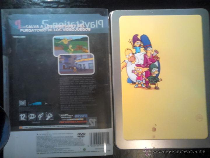 Videojuegos y Consolas: LOS SIMPSON - EL VIDEOJUEGO DE LOS SIMPSONS - PLAYSTATION 2 - 2 DISCOS - Foto 5 - 46687008