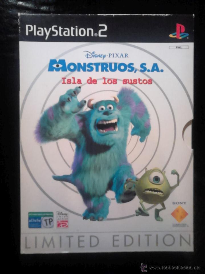 MONSTRUOS , S.A. ISLA DE LOS SUSTOS - EDICIÓN LIMITADA ESTUCHE DE CARTÓN + EXTRAS - PLAYSTATION 2 (Juguetes - Videojuegos y Consolas - Sony - PS2)