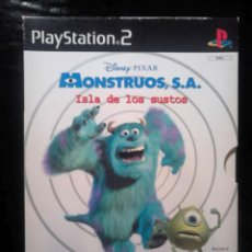 Videojuegos y Consolas: MONSTRUOS , S.A. ISLA DE LOS SUSTOS - EDICIÓN LIMITADA ESTUCHE DE CARTÓN + EXTRAS - PLAYSTATION 2. Lote 46687789