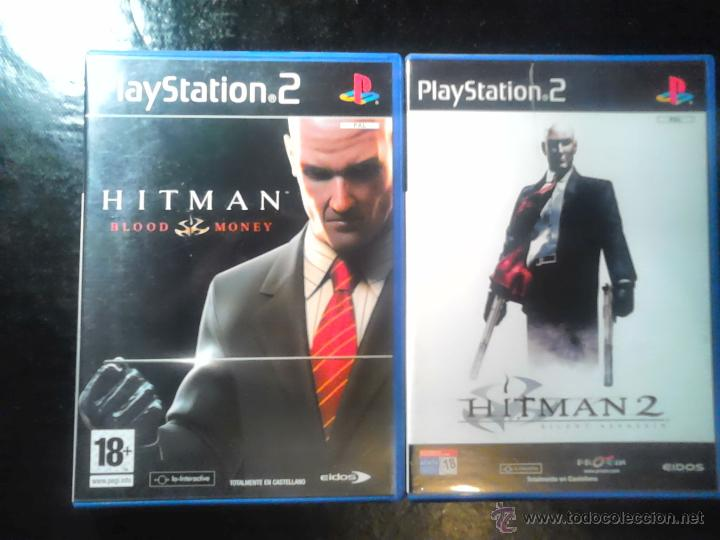 Videojuegos y Consolas: HITMAN - PACK LOTE DE 2 DISCOS - PLAYSTATION 2 - SILENT ASSASSIN Y BLOOD MONEY - Foto 1 - 46688082