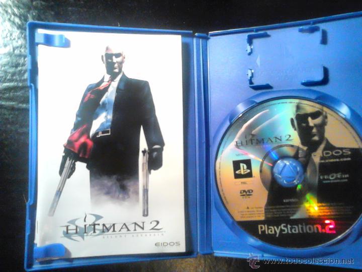 Videojuegos y Consolas: HITMAN - PACK LOTE DE 2 DISCOS - PLAYSTATION 2 - SILENT ASSASSIN Y BLOOD MONEY - Foto 3 - 46688082