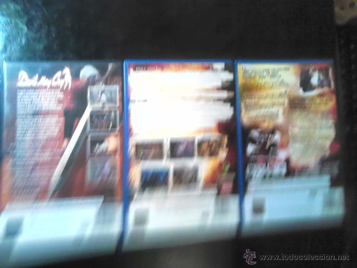 Videojuegos y Consolas: DEVIL MAY CRY 1 , 2 y 3 - COLECCIÓN PLAYSTATION 2 - LOTE DE 4 DISCOS - Foto 3 - 46688665