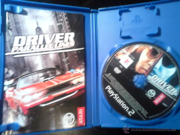 Videojuegos y Consolas: DRIV3R Y DRIVER Parallel Lines - LOTE PACK 2 DISCOS - PLAYSTATION 2 - Foto 3 - 46688816