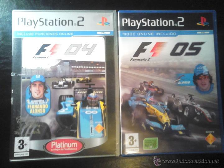FORMULA ONE 04 Y 05 - PACK LOTE 2 DISCOS - PLAYSTATION 2 (Juguetes - Videojuegos y Consolas - Sony - PS2)