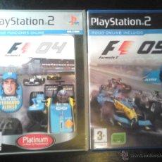 Videojuegos y Consolas: FORMULA ONE 04 Y 05 - PACK LOTE 2 DISCOS - PLAYSTATION 2. Lote 46688945
