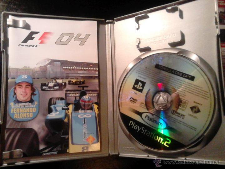 Videojuegos y Consolas: FORMULA ONE 04 Y 05 - PACK LOTE 2 DISCOS - PLAYSTATION 2 - Foto 2 - 46688945