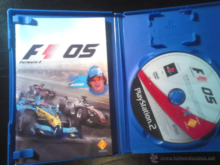 Videojuegos y Consolas: FORMULA ONE 04 Y 05 - PACK LOTE 2 DISCOS - PLAYSTATION 2 - Foto 3 - 46688945
