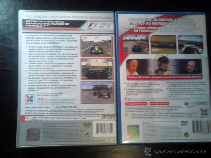 Videojuegos y Consolas: FORMULA ONE 04 Y 05 - PACK LOTE 2 DISCOS - PLAYSTATION 2 - Foto 4 - 46688945