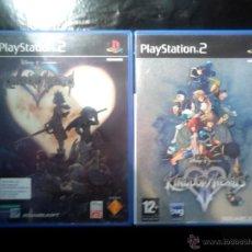 Videojuegos y Consolas: KINGDOM HEARTS I Y II - LOTE 2 DISCOS - PLAYSTATION 2 - PACK DISNEY SQUARE. Lote 46689125