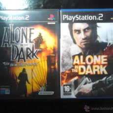 Videojuegos y Consolas: ALONE IN THE DARK (2008) Y ALONE IN THE DARK , THE NEW NIGHTMARE - PLAYSTATION 2 - LOTE 2 DISCOS. Lote 46689303