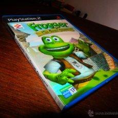 Videojuegos y Consolas: FROGGER THE GREAT QUUEST KONAMI PLAYSTATION 2 PS2 VIDEOJUEGO BUEN ESTADO CC1. Lote 46700570