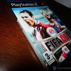 Videojuegos y Consolas: FIFA 06 PLAYSTATION 2 EA SPORTS VIDEOJUEGO PS2 CC1. Lote 46700607