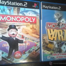 Videojuegos y Consolas: MONOPOLY + MONOPOLY PARTY - LOTE PACK 2 DISCOS - PLAYSTATION 2. Lote 46728702